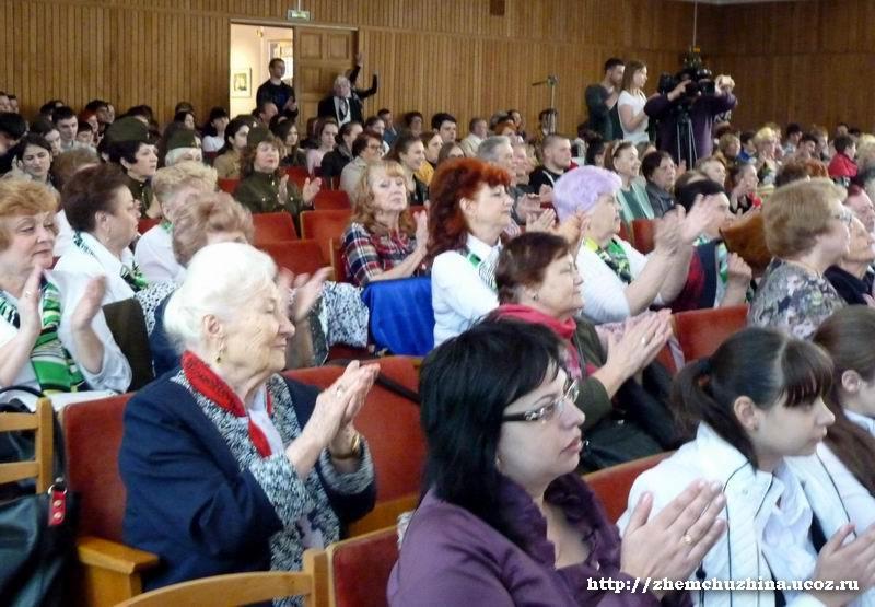Финал II краевого конкурса «Любви все возрасты покорны» 17.04.2015г.